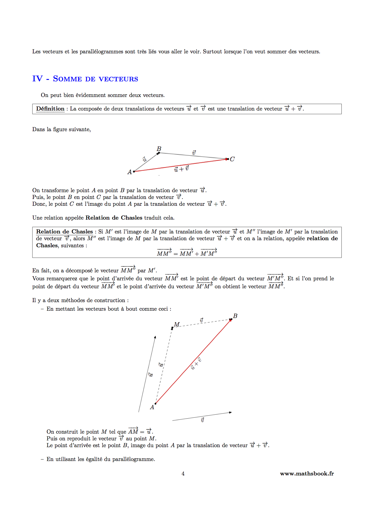 exercice de math 3eme pdf