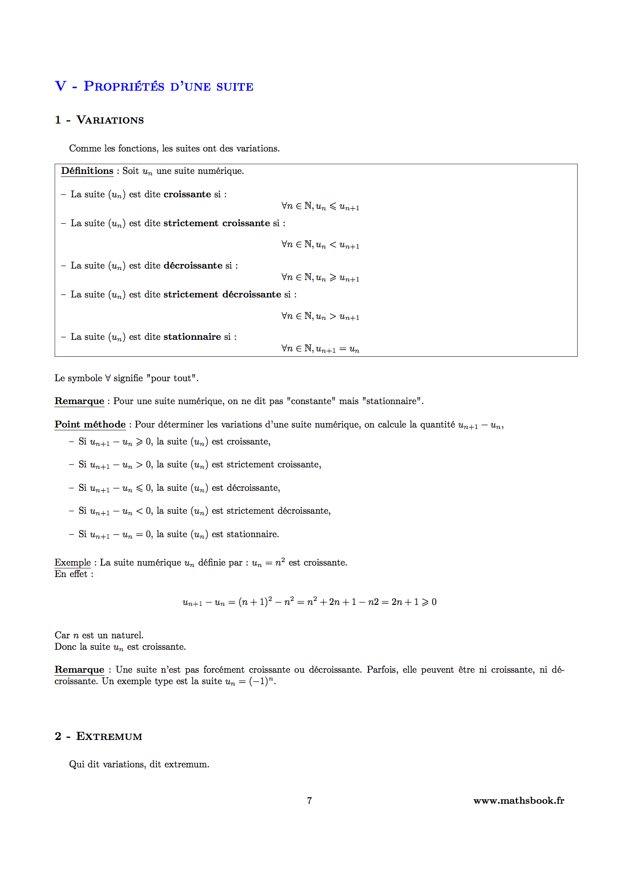 fonction numerique terminale pdf