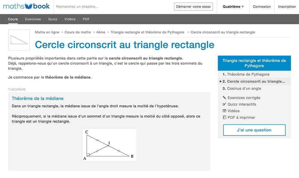 aide en mathematique en ligne gratuit