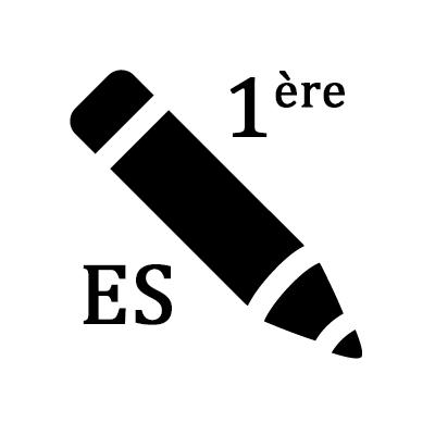 Exercices de maths première ES