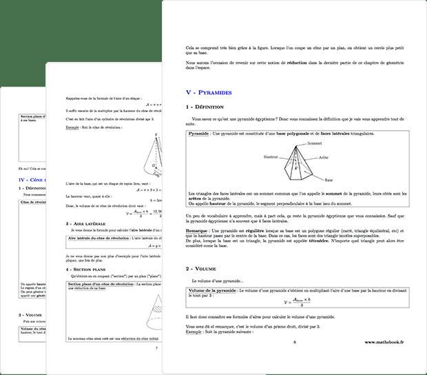 Cours de maths en ligne de la 6ème à la terminale   Mathsbook