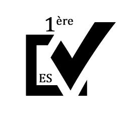 QCM de maths première ES