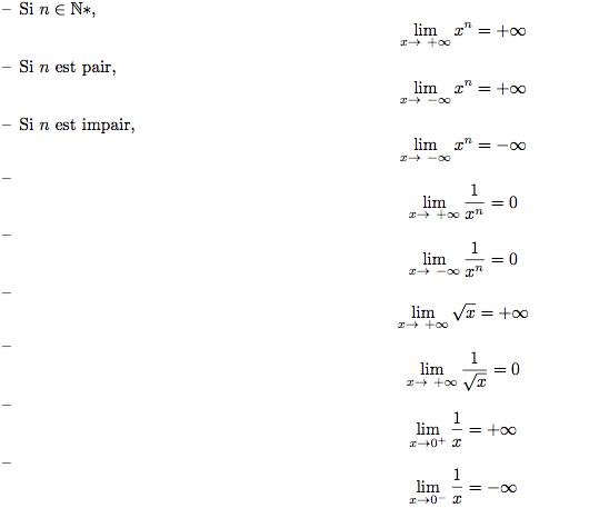 Limite d 39 une fonction en un point a continuit et limite cours terminale es - Arbre trentenaire en limite de propriete ...