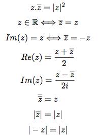 Proprietes Des Nombres Complexes Nombres Complexes Cours Terminale S