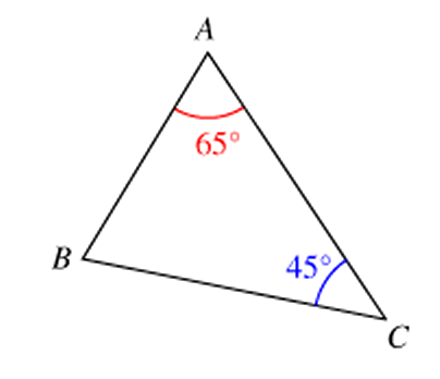 Calculs D Angles D Un Triangle Triangles Exercice 5 232 Me