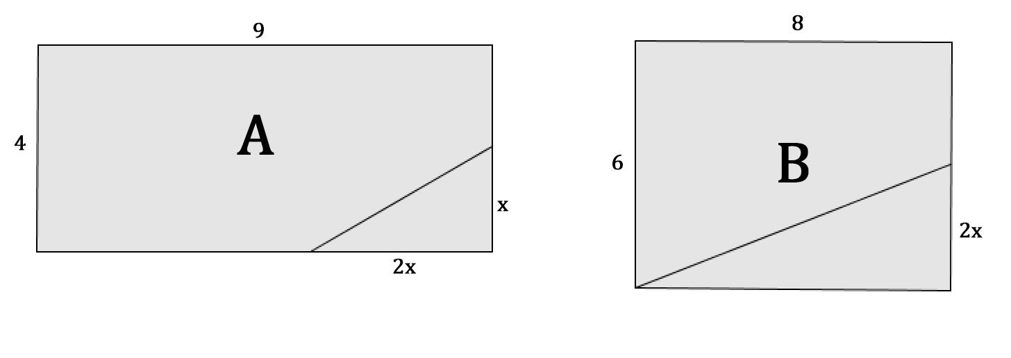 Identité remarquable et rectangle | Développement et factorisation | Exercice 3ème