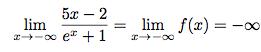 Calculs des limites de fonctions avec des exponentielles ...