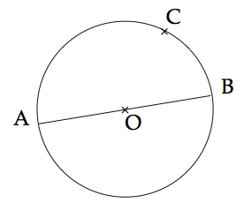 cercle circonscrit et triangle rectangle